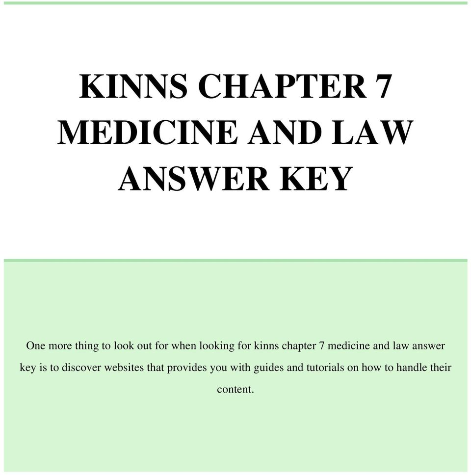 and law answer key is to discover websites that provides