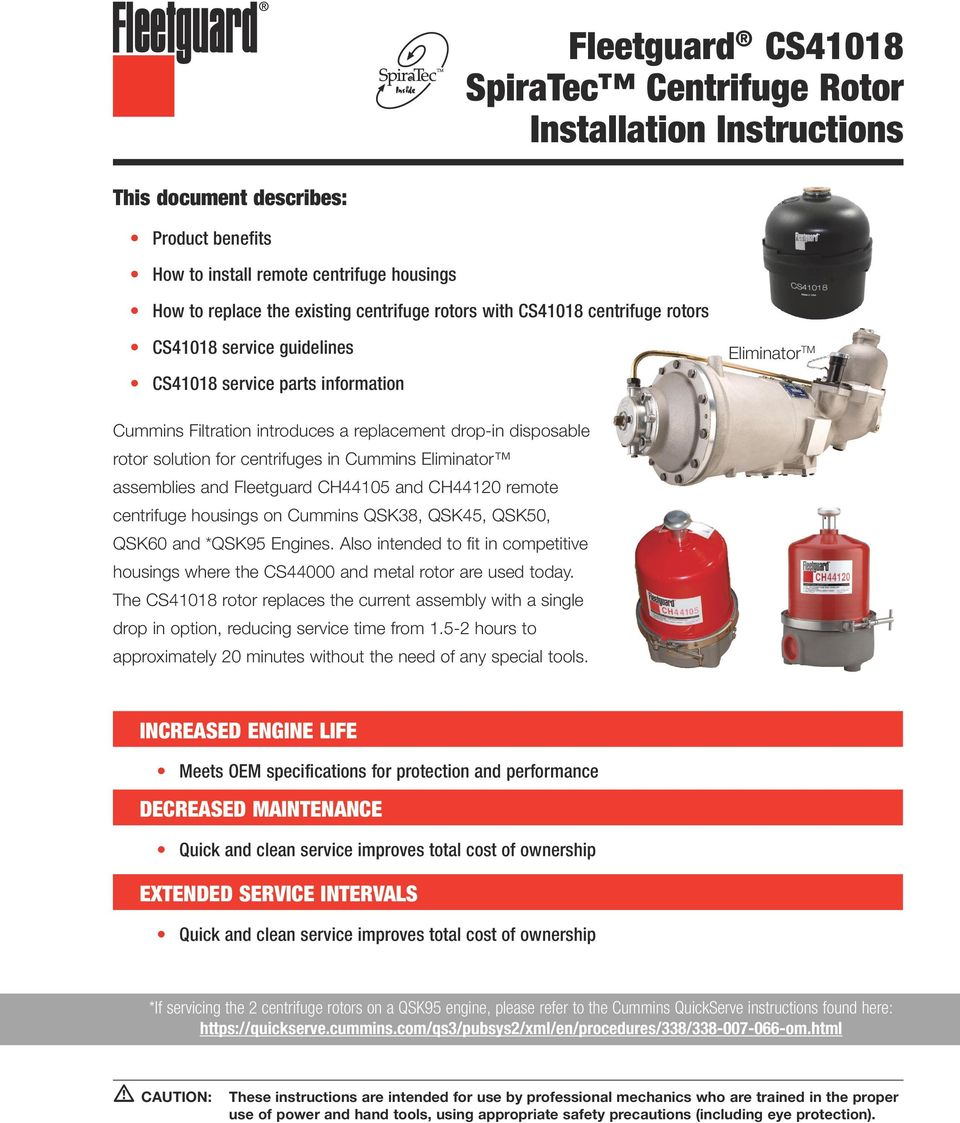 Cummins qsk50 genset engine spec sheet 4 pages - click to download