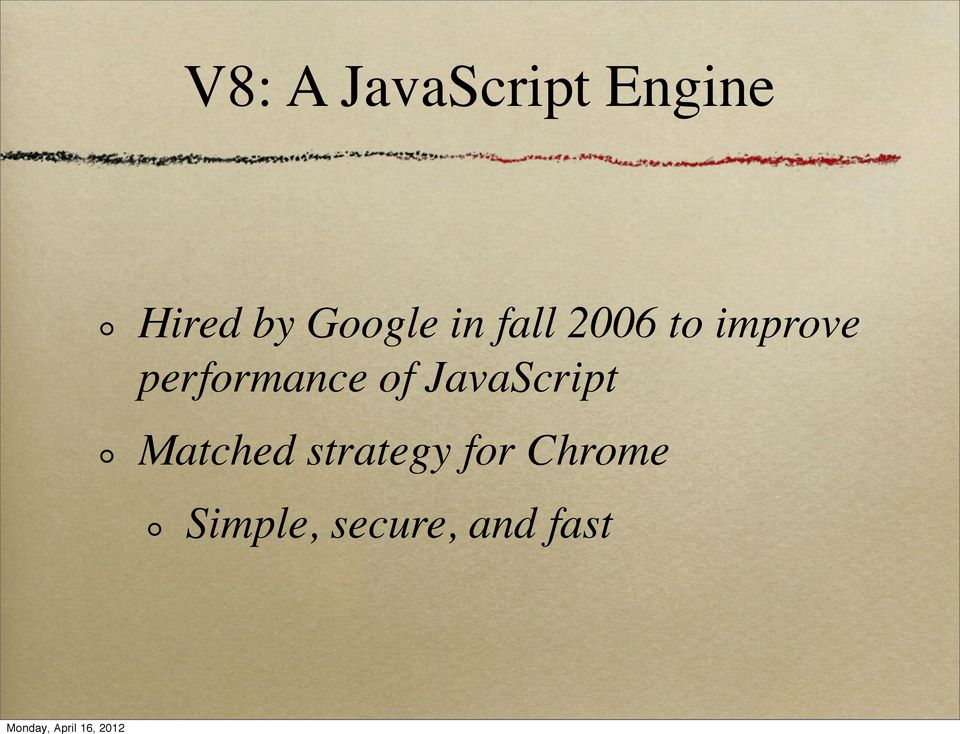 performance of JavaScript Matched