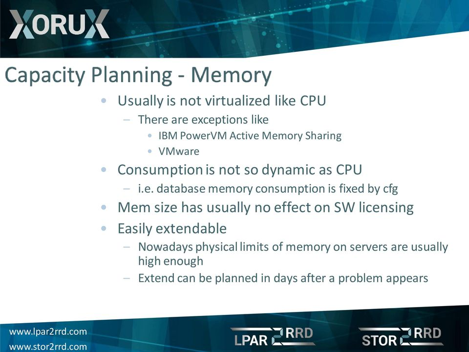 Consumption is not so dynamic as CPU i.e.