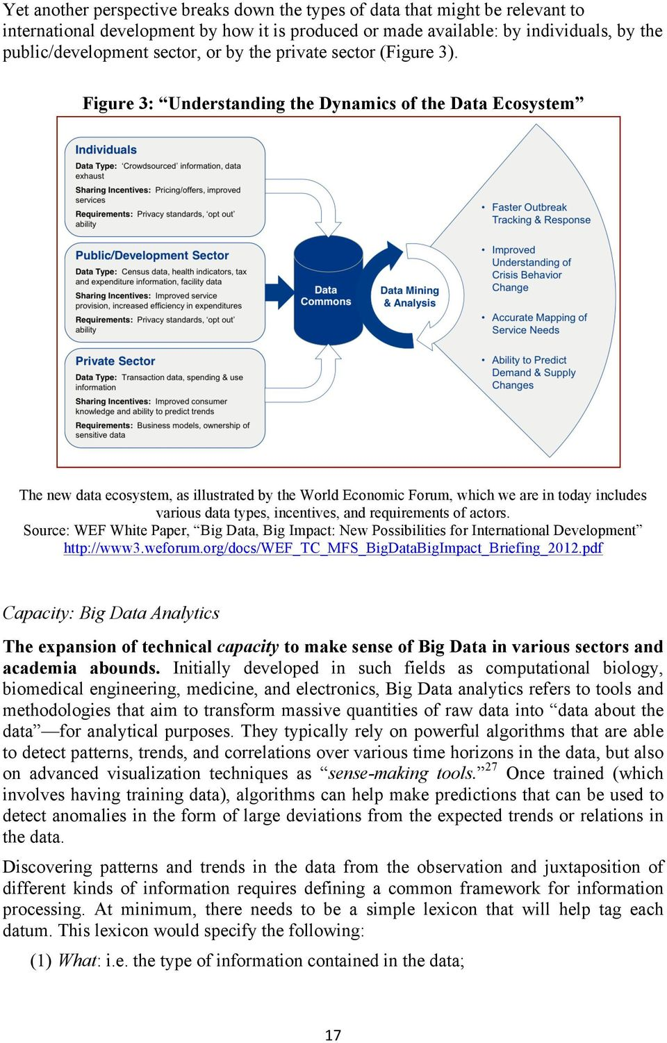 Figure 3: Understanding the Dynamics of the Data Ecosystem The new data ecosystem, as illustrated by the World Economic Forum, which we are in today includes various data types, incentives, and