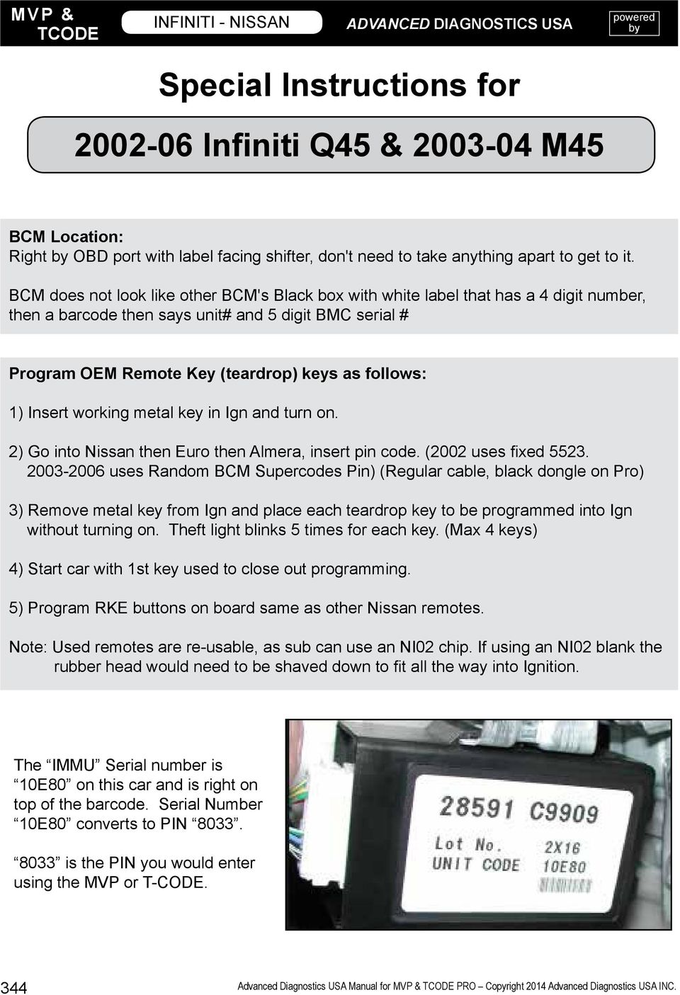 infiniti nissan this section contains pdf bcm does not look like other bcm s black box white label that has a 4