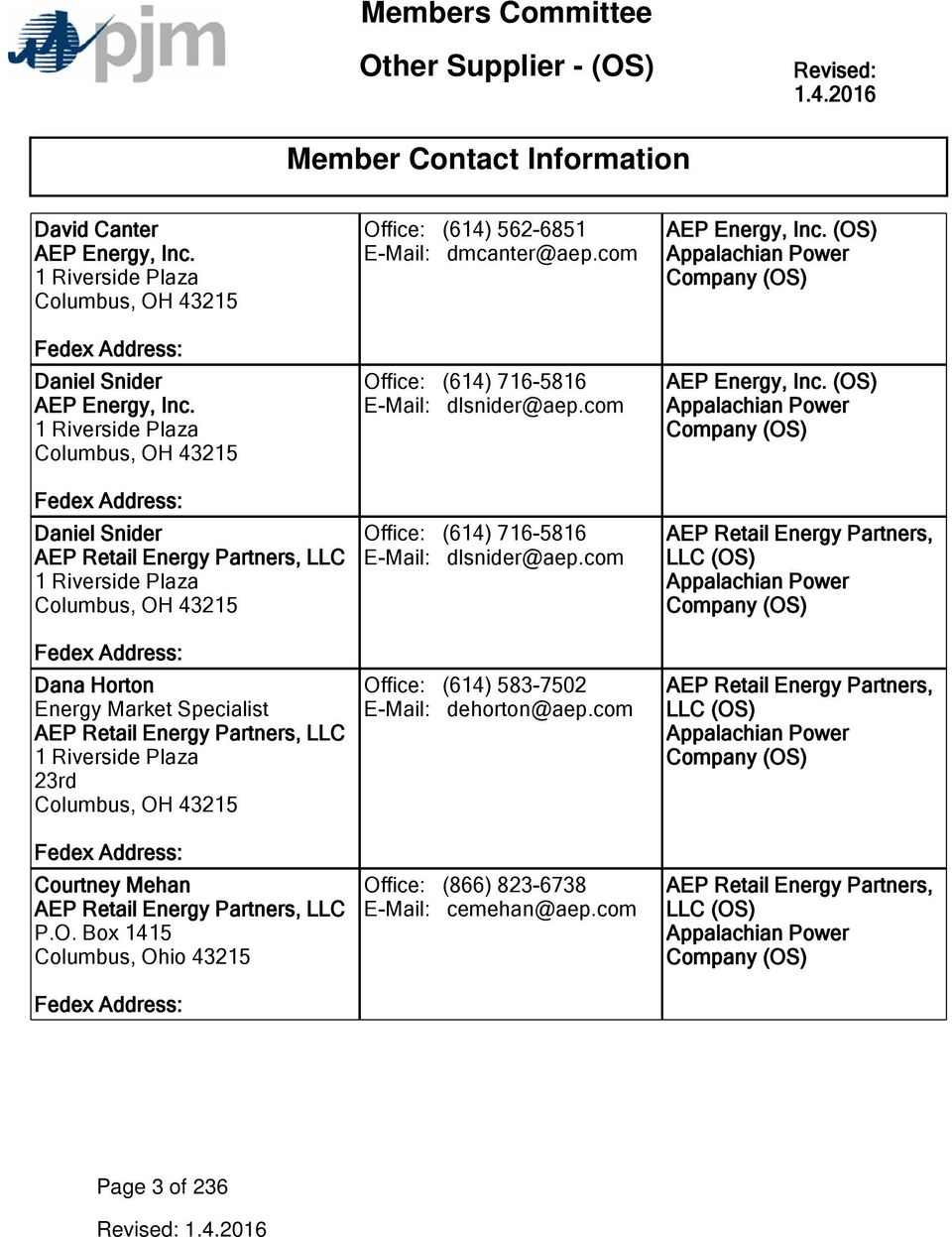 Members Committee Other Supplier Os Member Contact