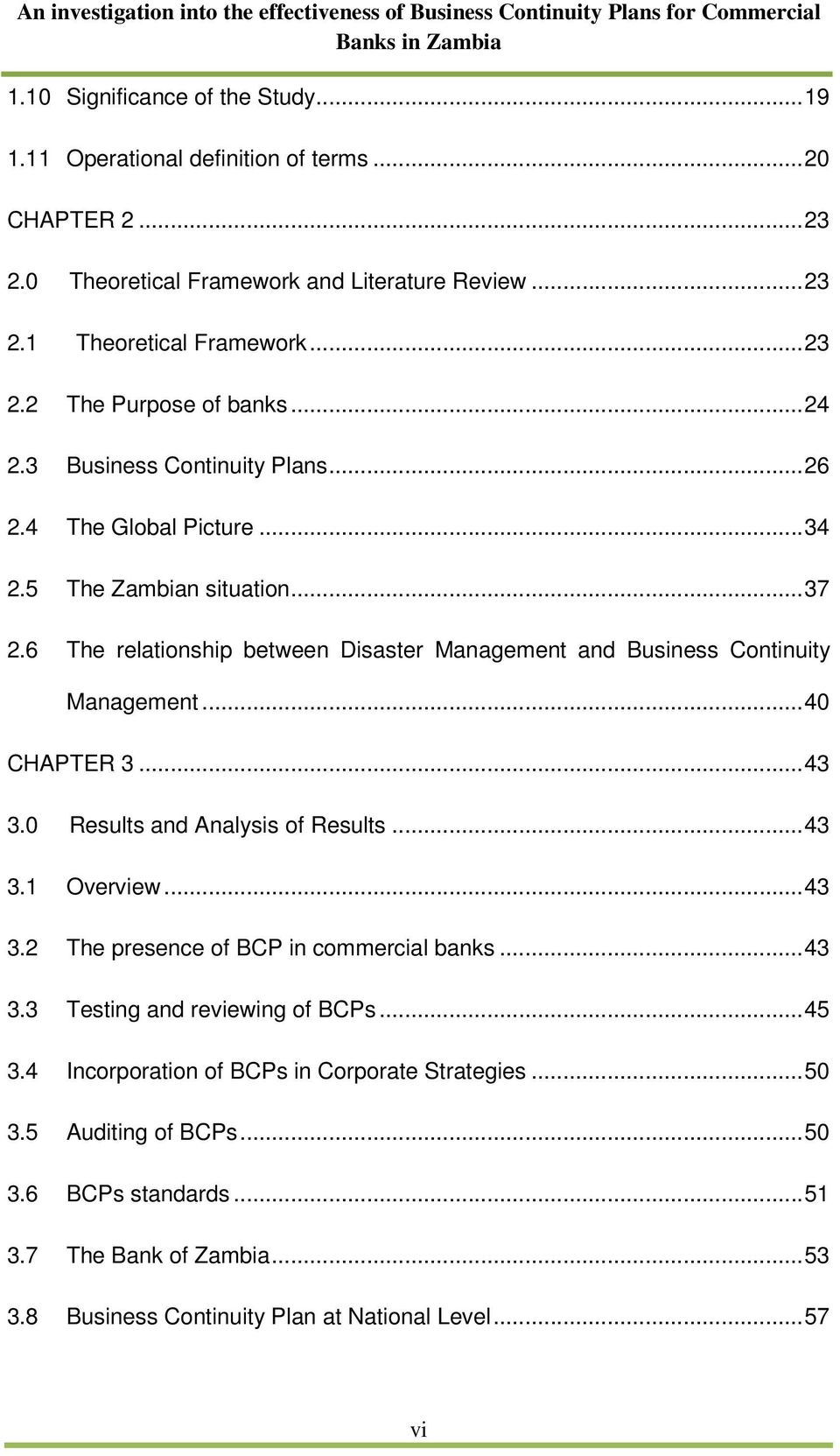 Dissertation Thesis Business