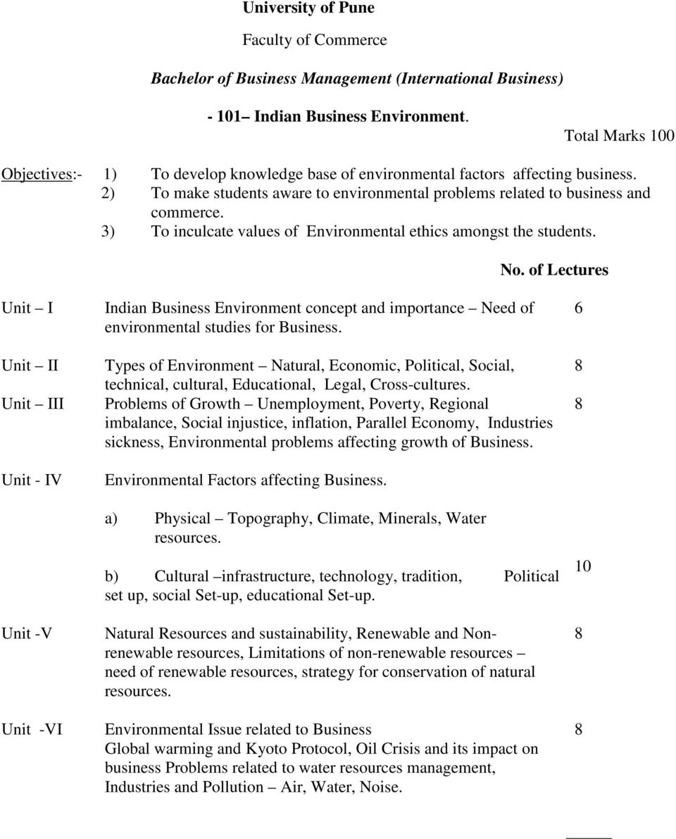 3) To inculcate values of Environmental ethics amongst the students. No.