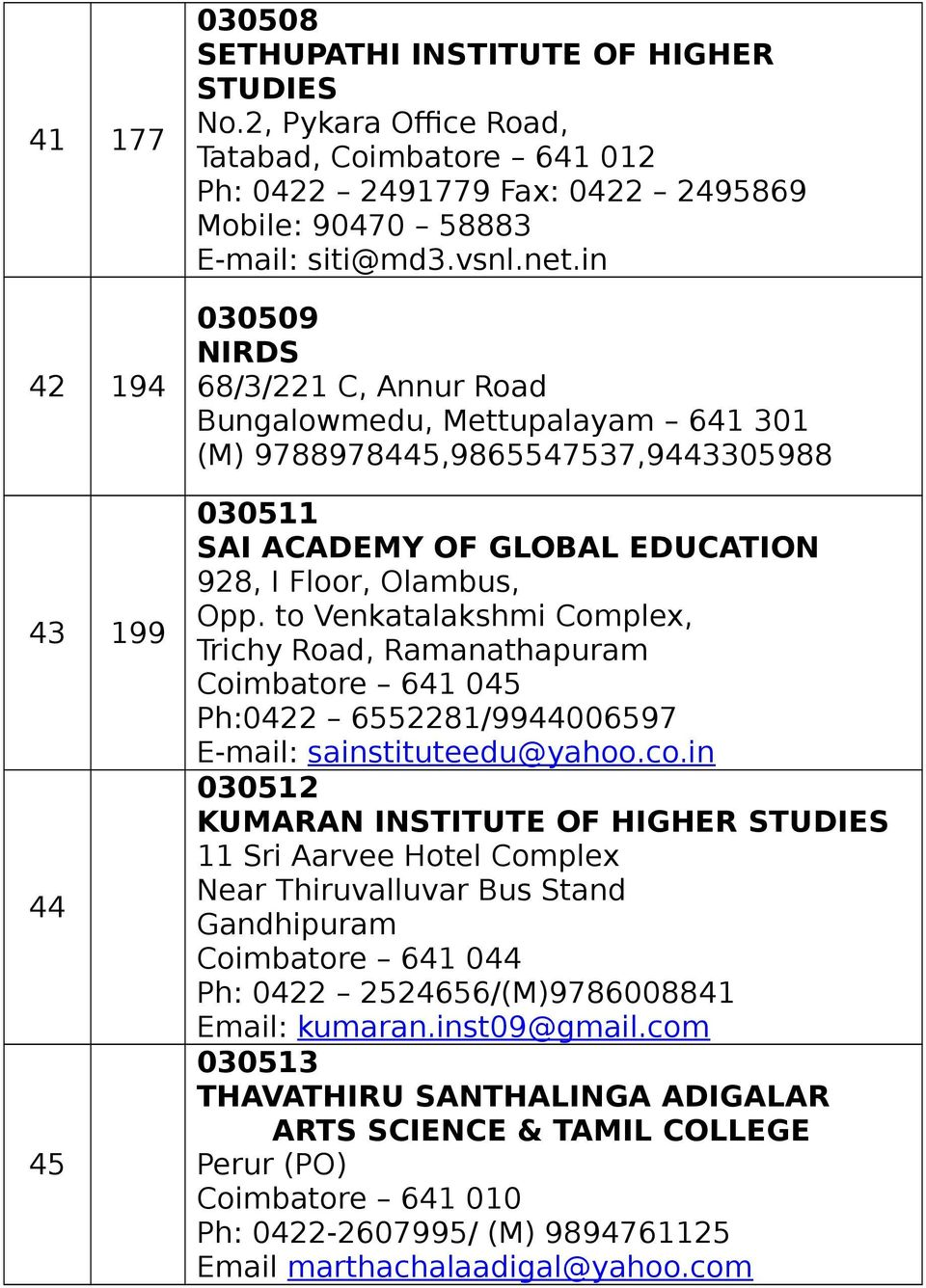 TAMIL NADU OPEN UNIVERSITY STUDENT SUPPORT SERVICES DIVISION UPDATED ...
