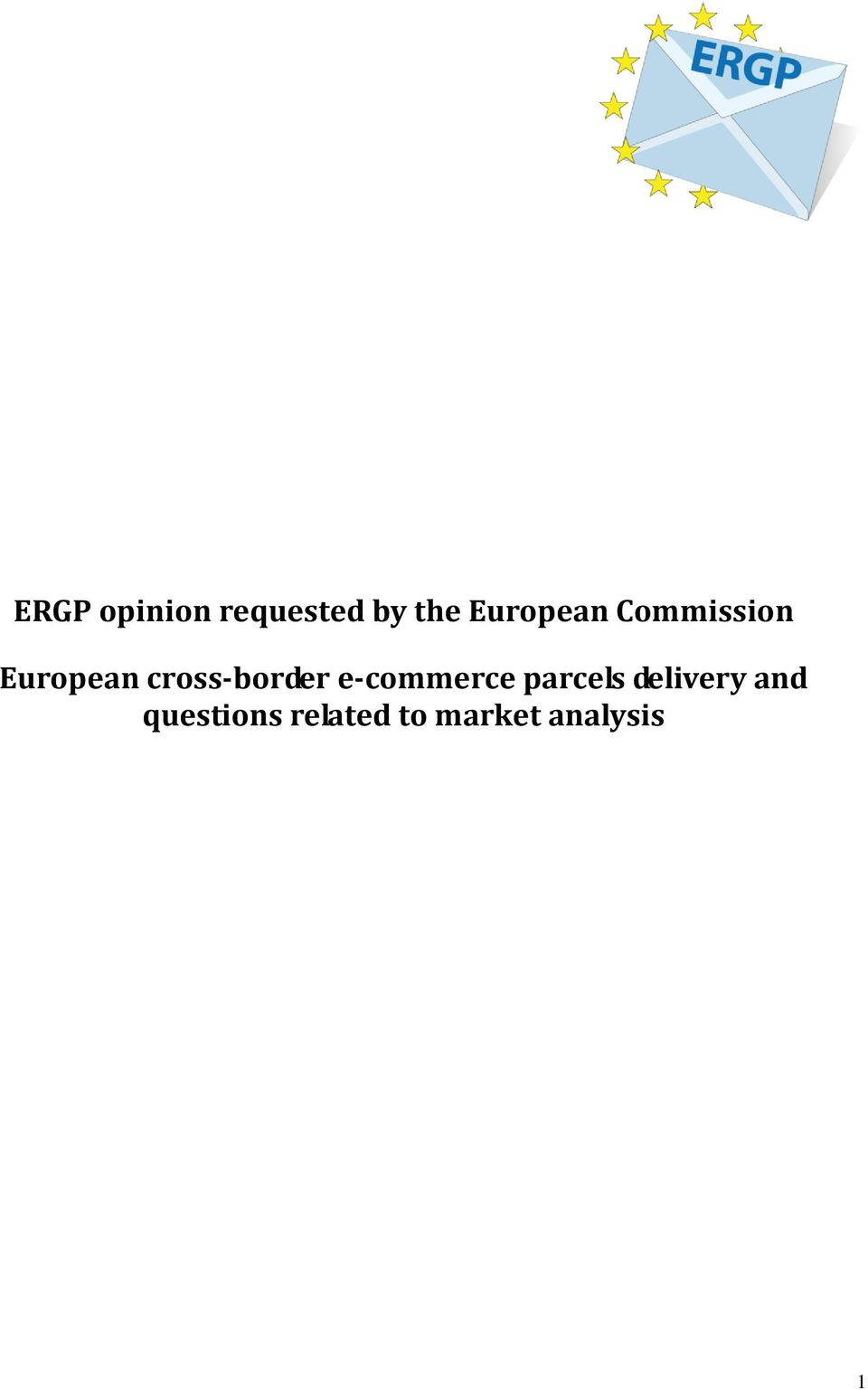 cross-border e-commerce parcels
