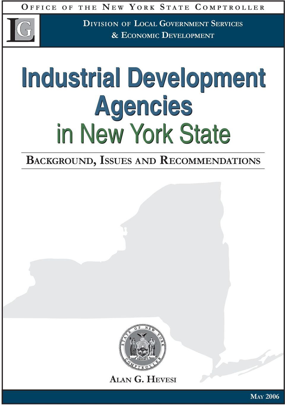 Industrial Development Agencies in New York State