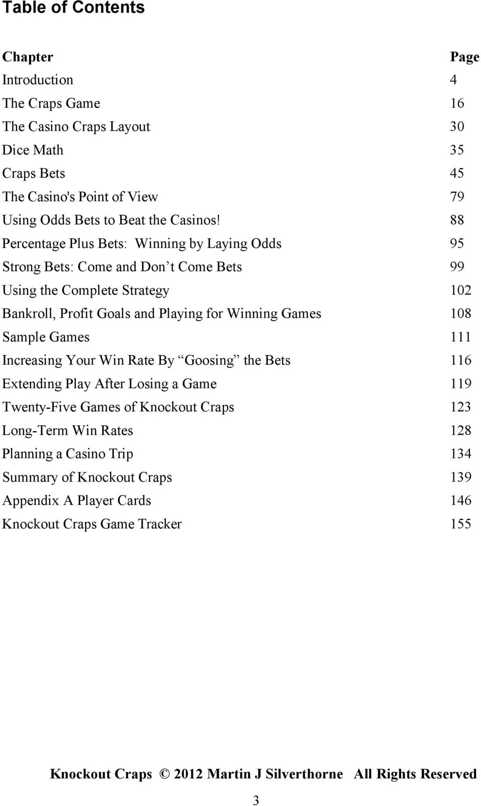 The best craps systems by silverthorne publications al anon gambling