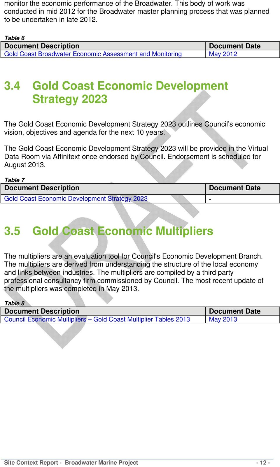 4 Gold Coast Economic Development Strategy 2023 The Gold Coast Economic Development Strategy 2023 outlines Council s economic vision, objectives and agenda for the next 10 years.