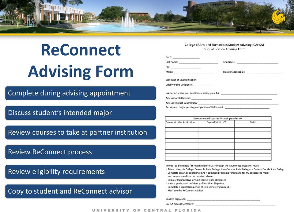 courses to take at partner institution Review ReConnect