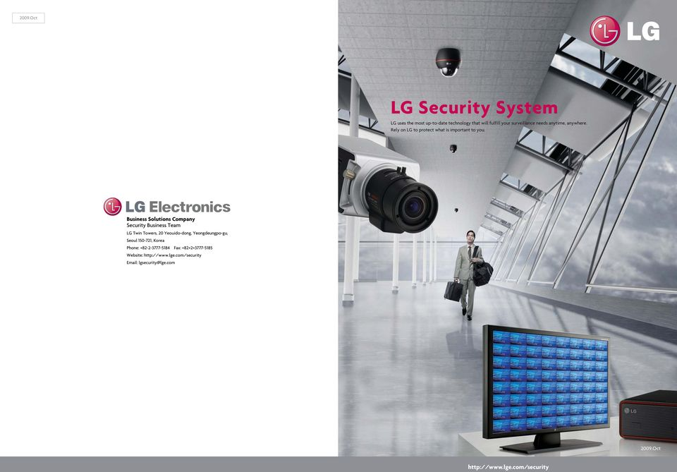 Business Solutions Company Security Business Team LG Twin Towers, 20 Yeouido-dong, Yeongdeungpo-gu,