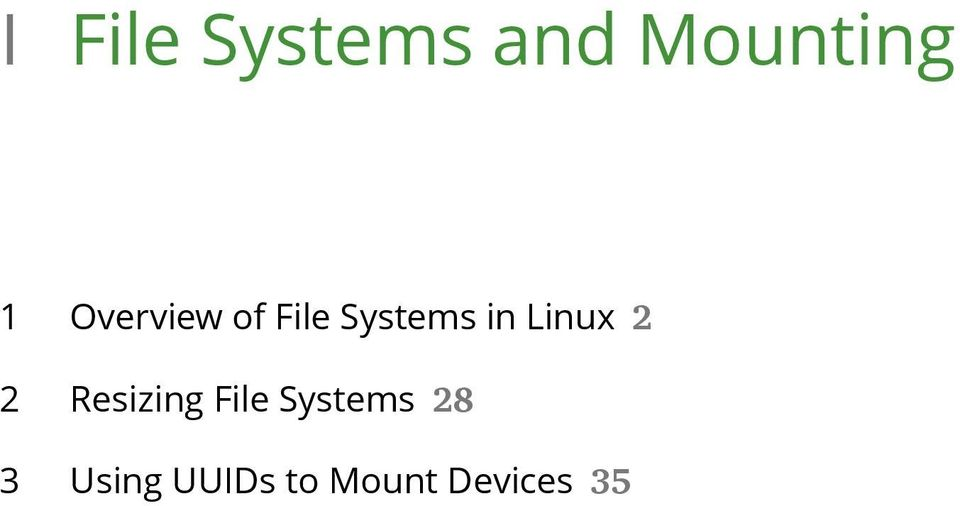 Linux 2 2 Resizing File Systems
