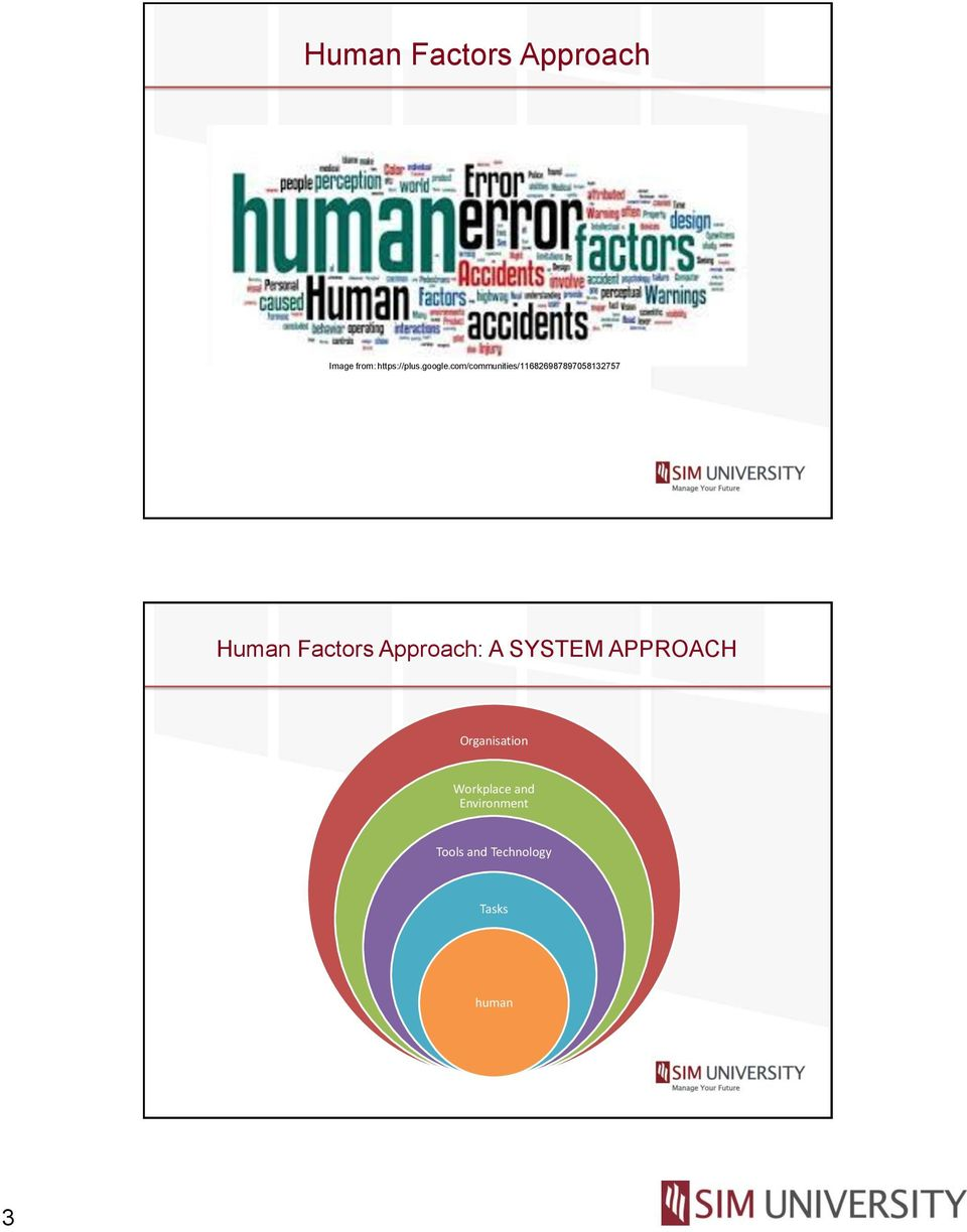 com/communities/116826987897058132757 Human Factors