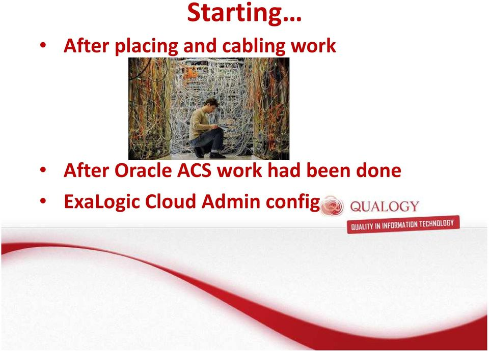 Oracle ACS work had been