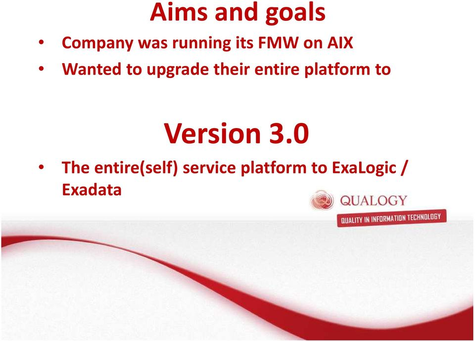 entire platform to Version 3.