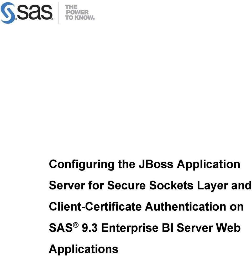 Client-Certificate Authentication on