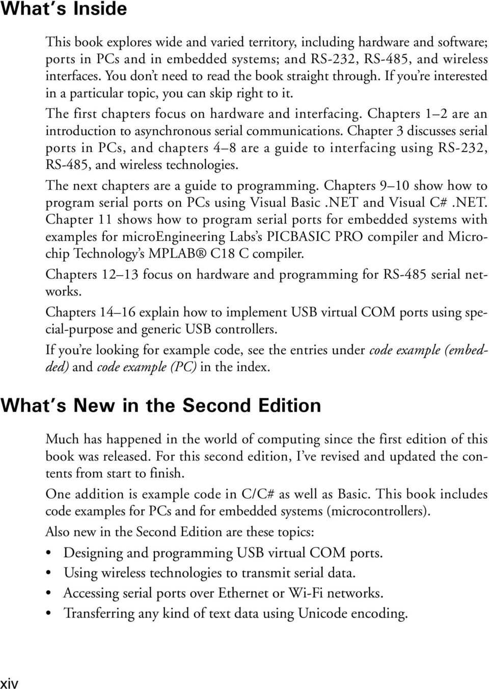 Chapters 1 2 are an introduction to asynchronous serial communications.