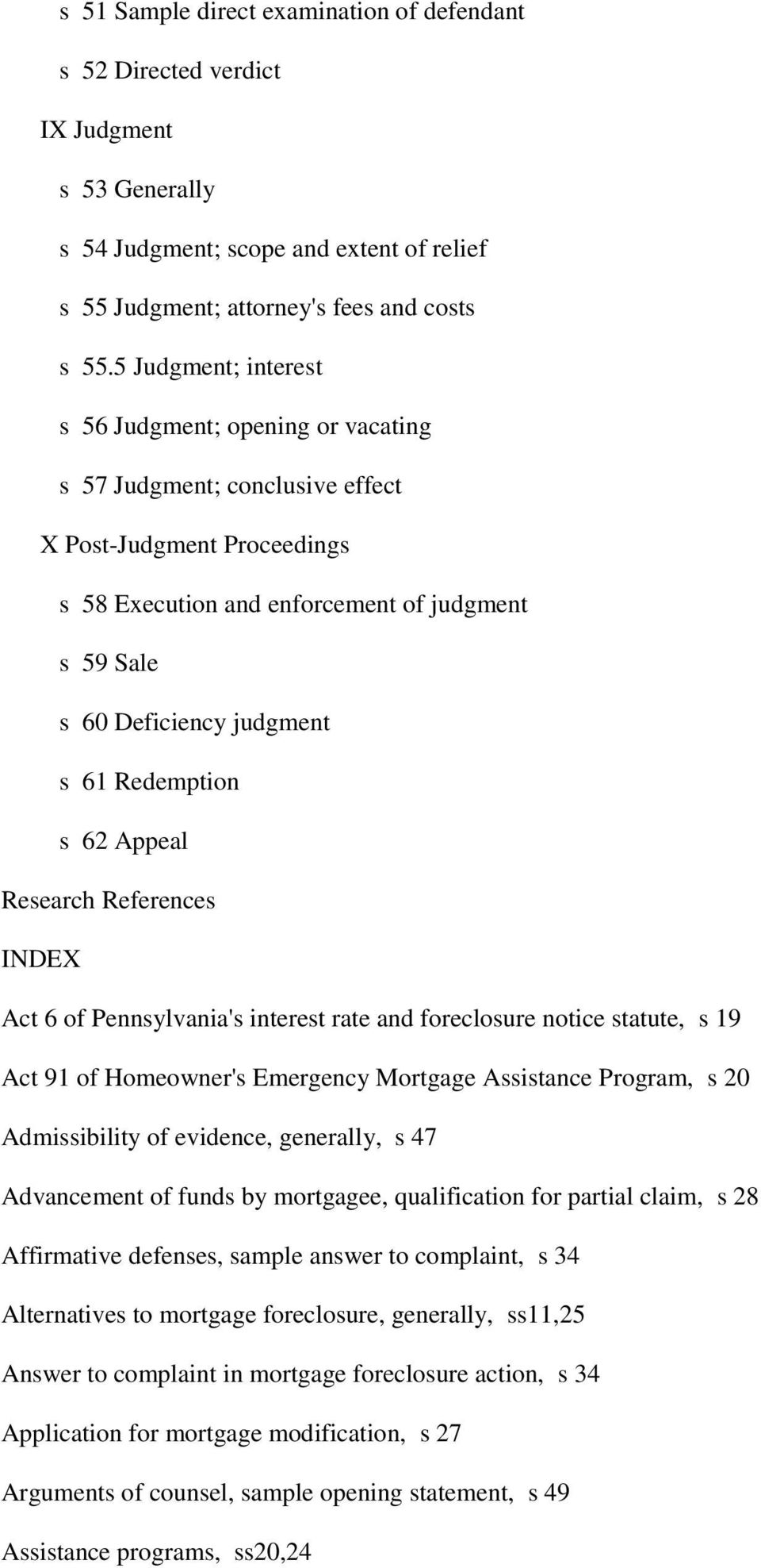 Litigation concerning mortgage foreclosures useful summary with redemption s 62 appeal research references index act 6 of pennsylvanias interest rate and foreclosure notice spiritdancerdesigns Images