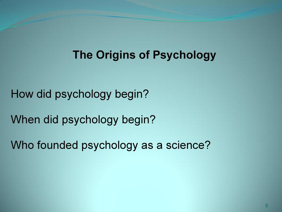 an introduction to the origins of philosophy and science 1 philosophy of science: introduction kristina rolin 2012 what is philosophy of science}philosophy of science is a study of the normative conception of scientific.