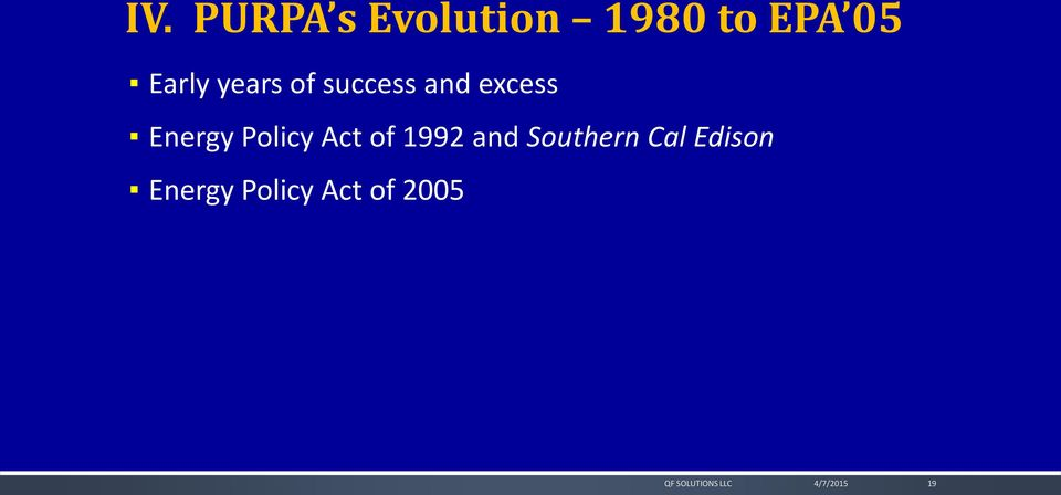 Energy Policy Act of 1992 and