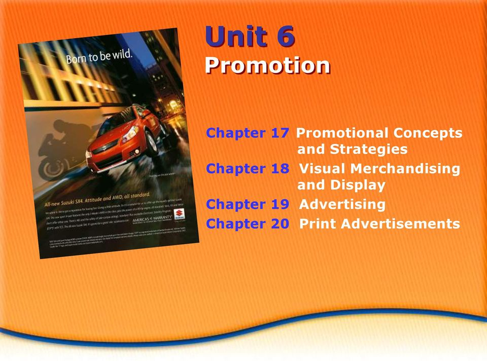 Visual Merchandising and Display Chapter
