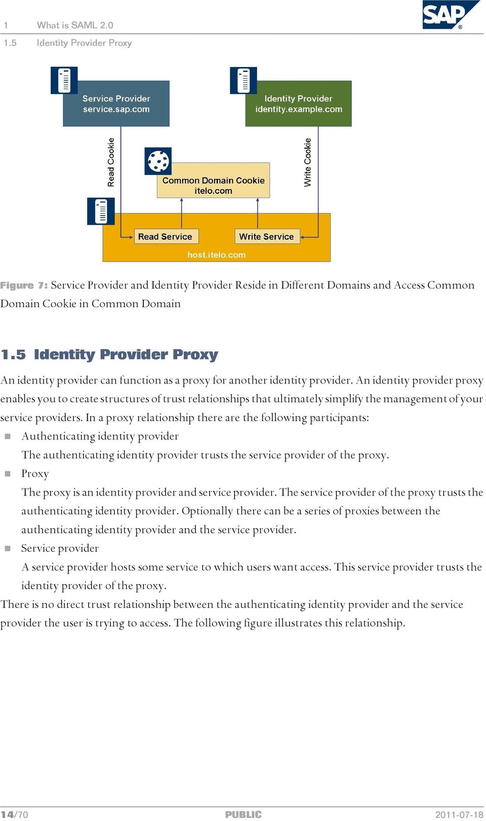 An identity provider proxy enables you to create structures of trust relationships that ultimately simplify the management of your service providers.