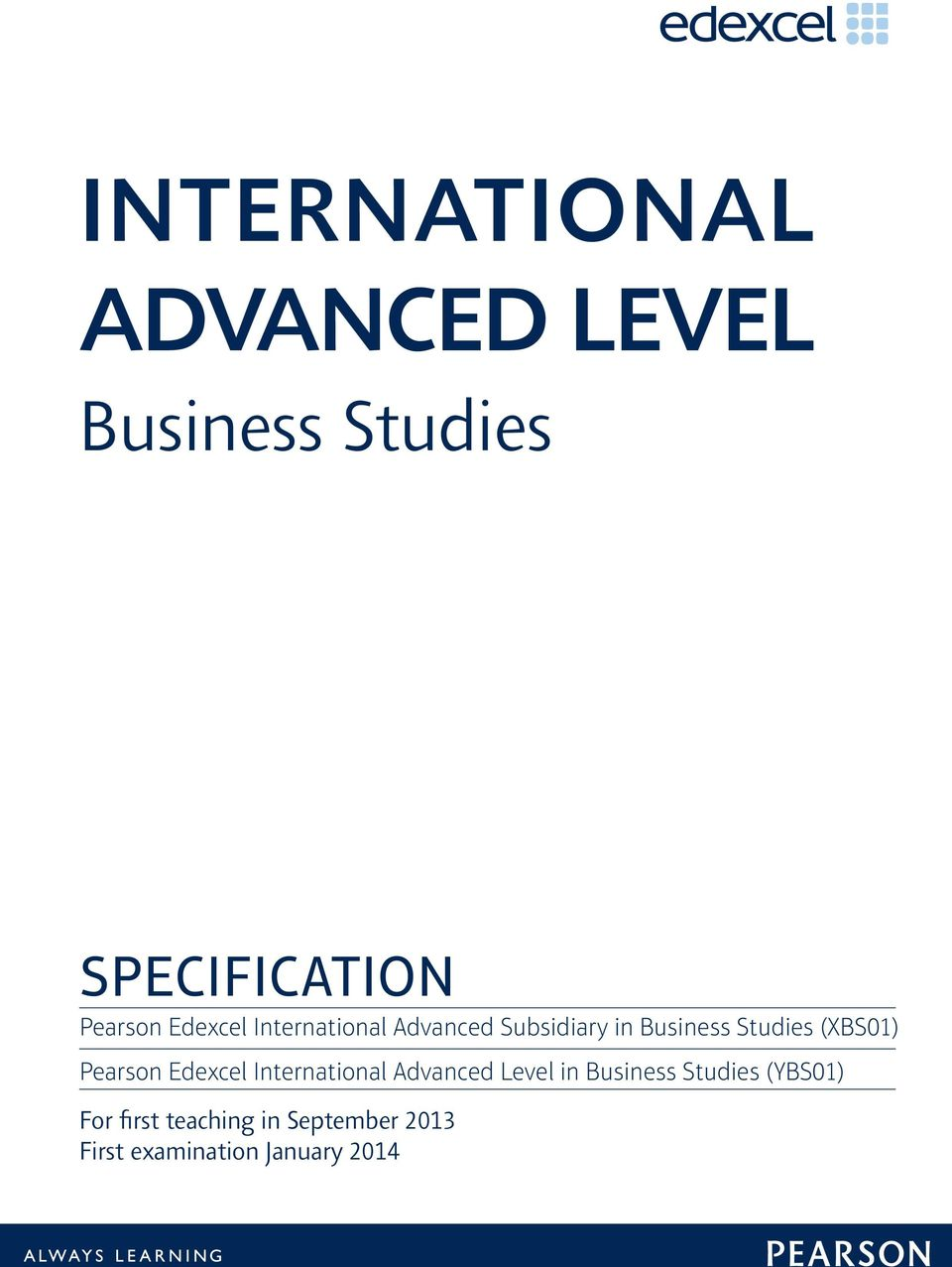 International advanced level business studies pdf pearson edexcel international advanced level in business studies fandeluxe Choice Image