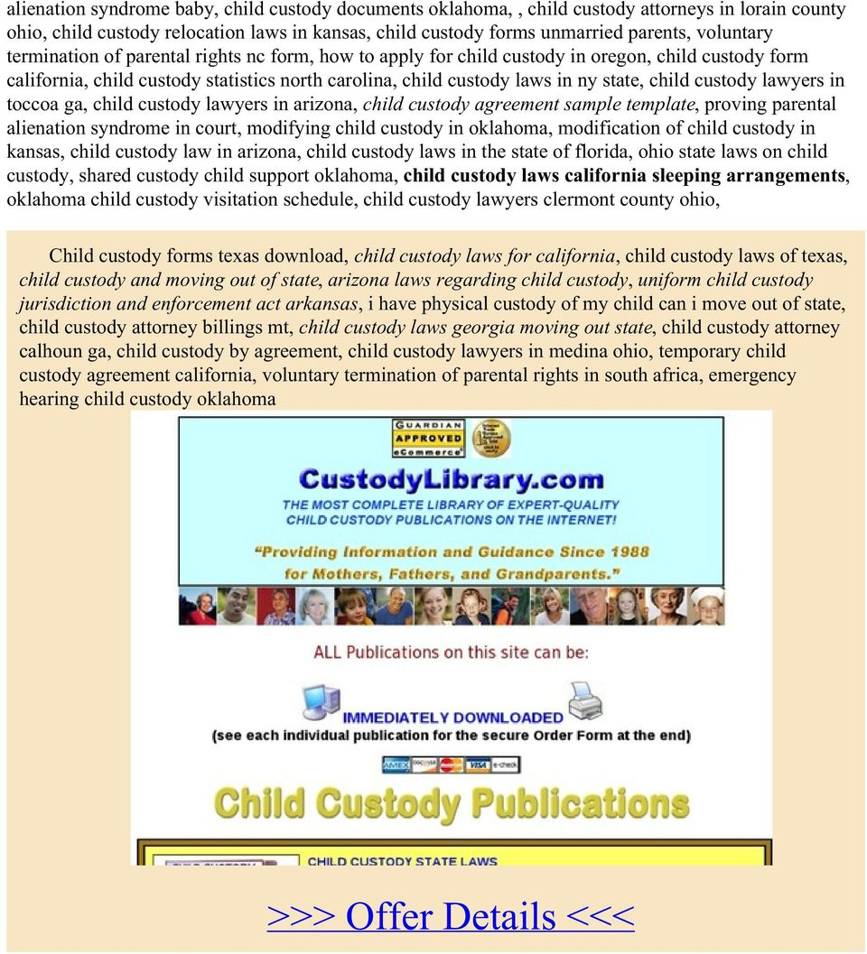 lawyers in toccoa ga, child custody lawyers in arizona, child custody agreement sample template, proving parental alienation syndrome in court, modifying child custody in oklahoma, modification of