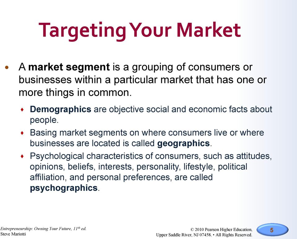 marriotts market segmentation and market research essay
