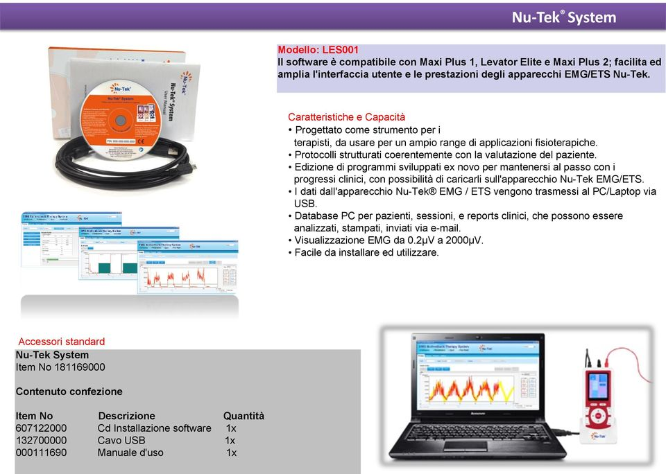 Edits newly developed programs to keep abreast of any clinical trials and downloads to Nu-Tek EMG /ETS device.