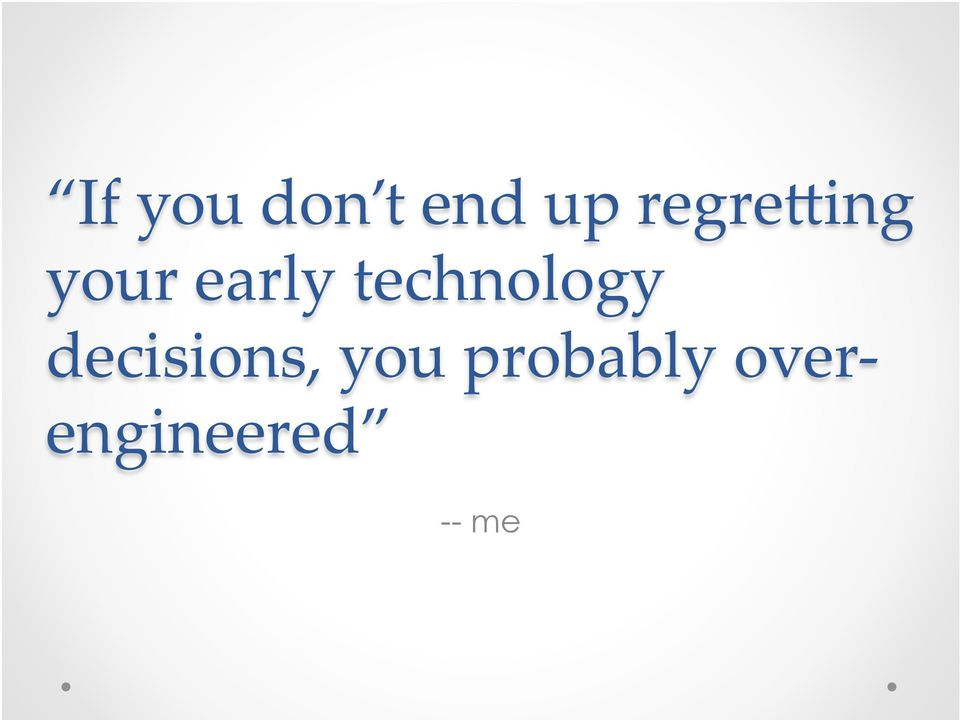 technology decisions,