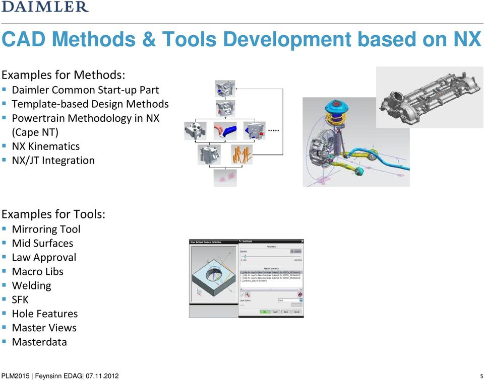 (Cape NT) NX Kinematics NX/JT Integration Examples for Tools: Mirroring Tool