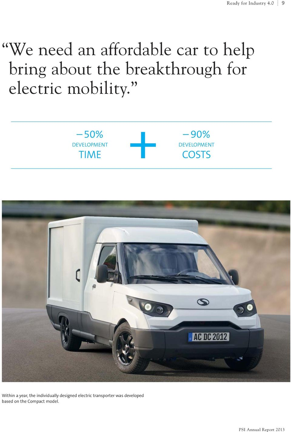 breakthrough for electric mobility.