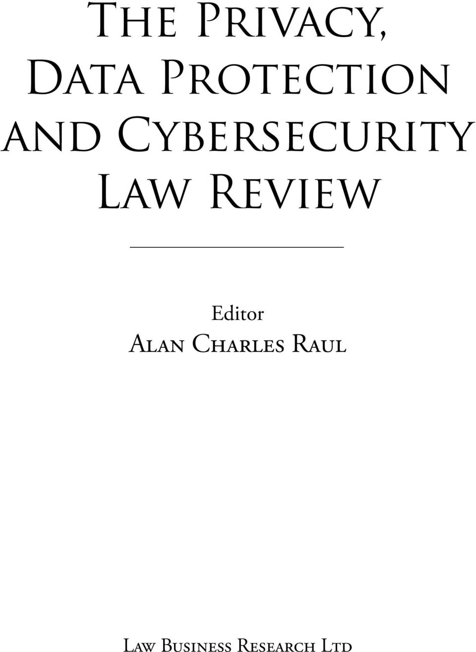 Cybersecurity Law Review