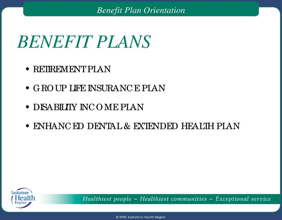 INSURANCE PLAN DISABILITY INCOME