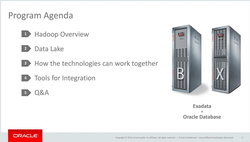 Integration Q&A Exadata + Oracle Database Oracle