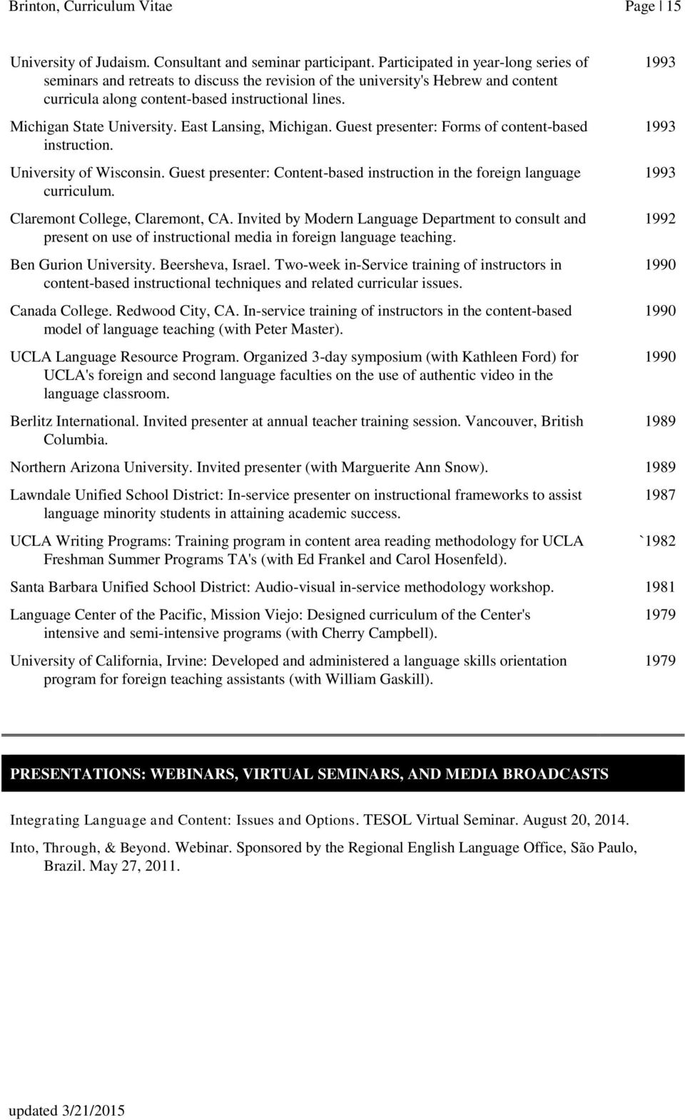 resume font size canada professional resume font size and