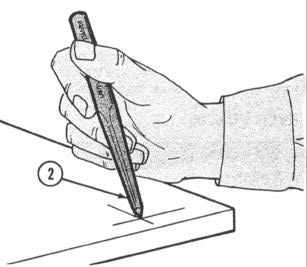 USING A CENTER PUNCH WARNING WEAR EYE PROTECTION NOTE The procedure which follows is only one of many uses of a hand-held center