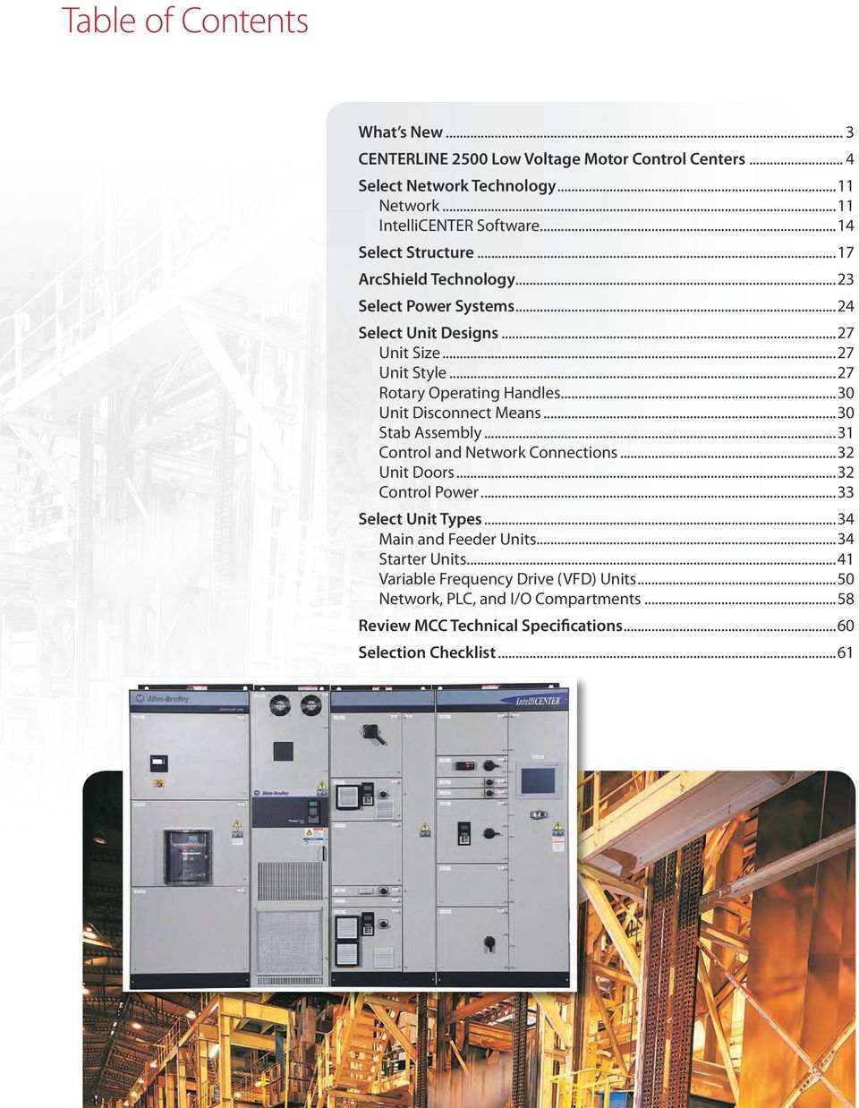 Centerline 2500 low voltage motor control centers and for Motor control center design guide