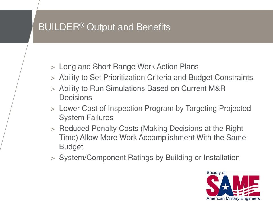 Inspection Program by Targeting Projected System Failures > Reduced Penalty Costs (Making Decisions at the