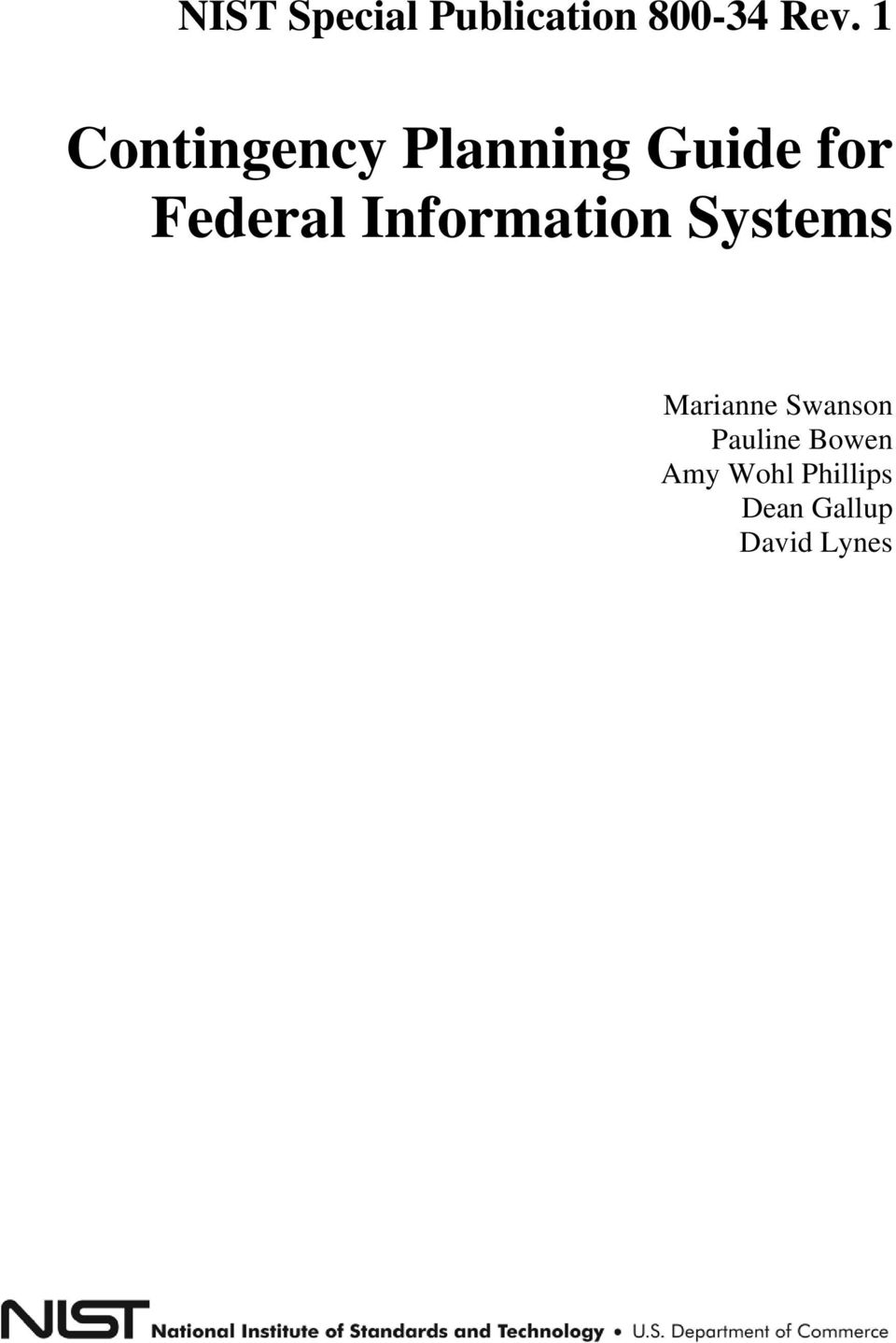 Information Systems Marianne Swanson
