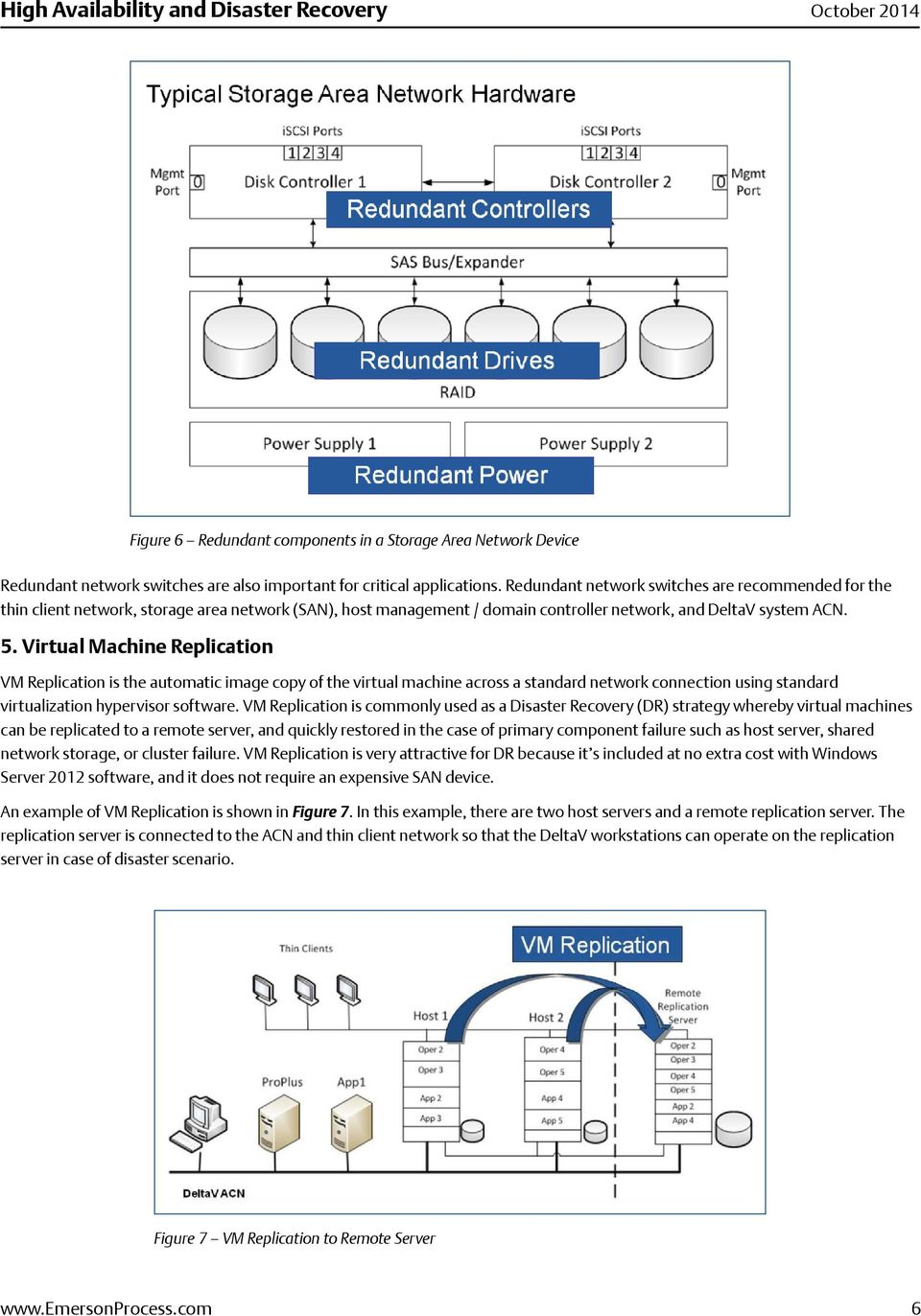 Virtual Machine Replication VM Replication is the automatic image copy of the virtual machine across a standard network connection using standard virtualization hypervisor software.