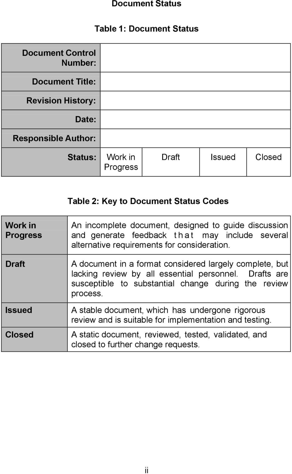 for consideration. A document in a format considered largely complete, but lacking review by all essential personnel. Drafts are susceptible to substantial change during the review process.