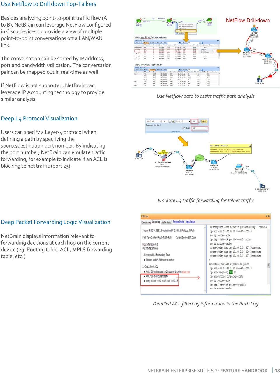 NetBrain Enterprise Edition v5.4g1 - PDF