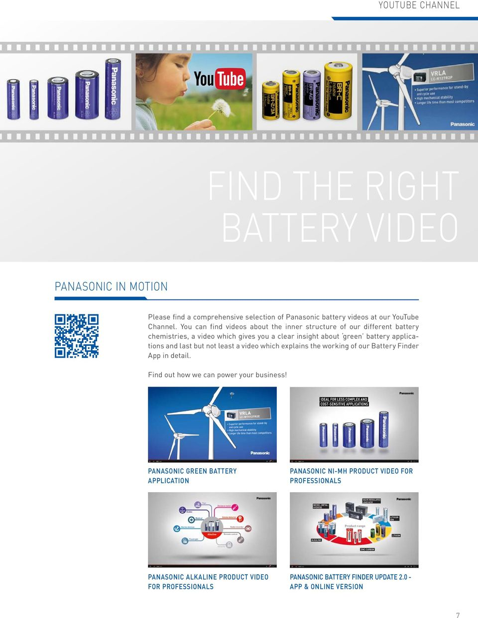 and last but not least a video which explains the working of our Battery Finder App in detail. Find out how we can power your business!