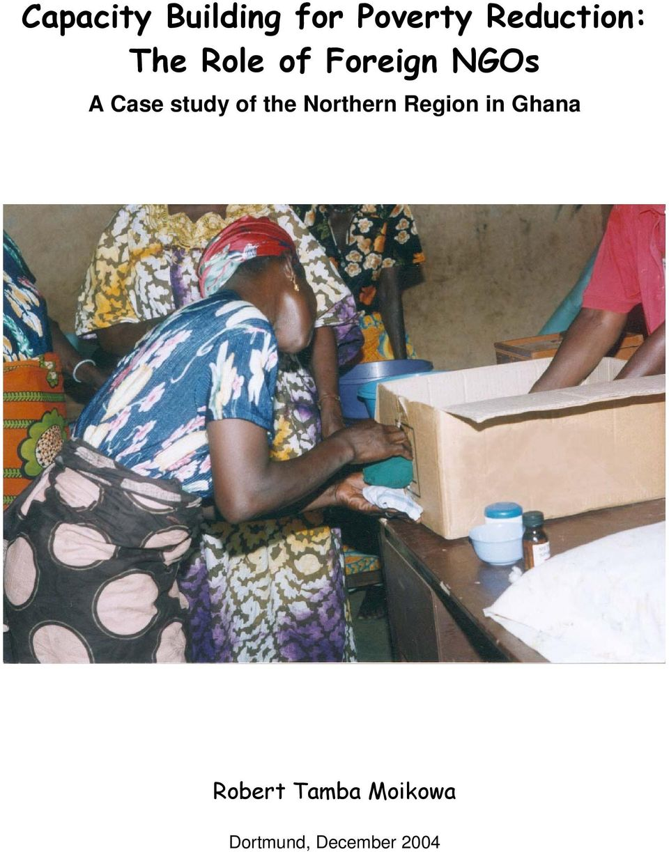 Case study of the Northern Region in