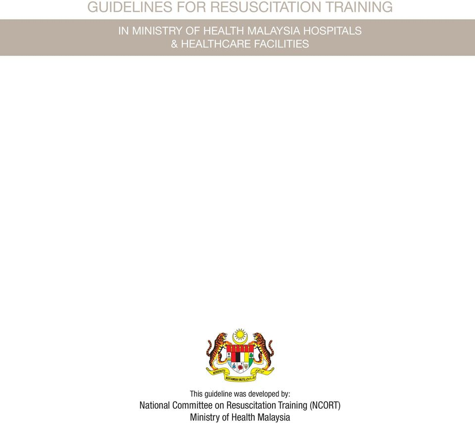This guideline was developed by: National Committee