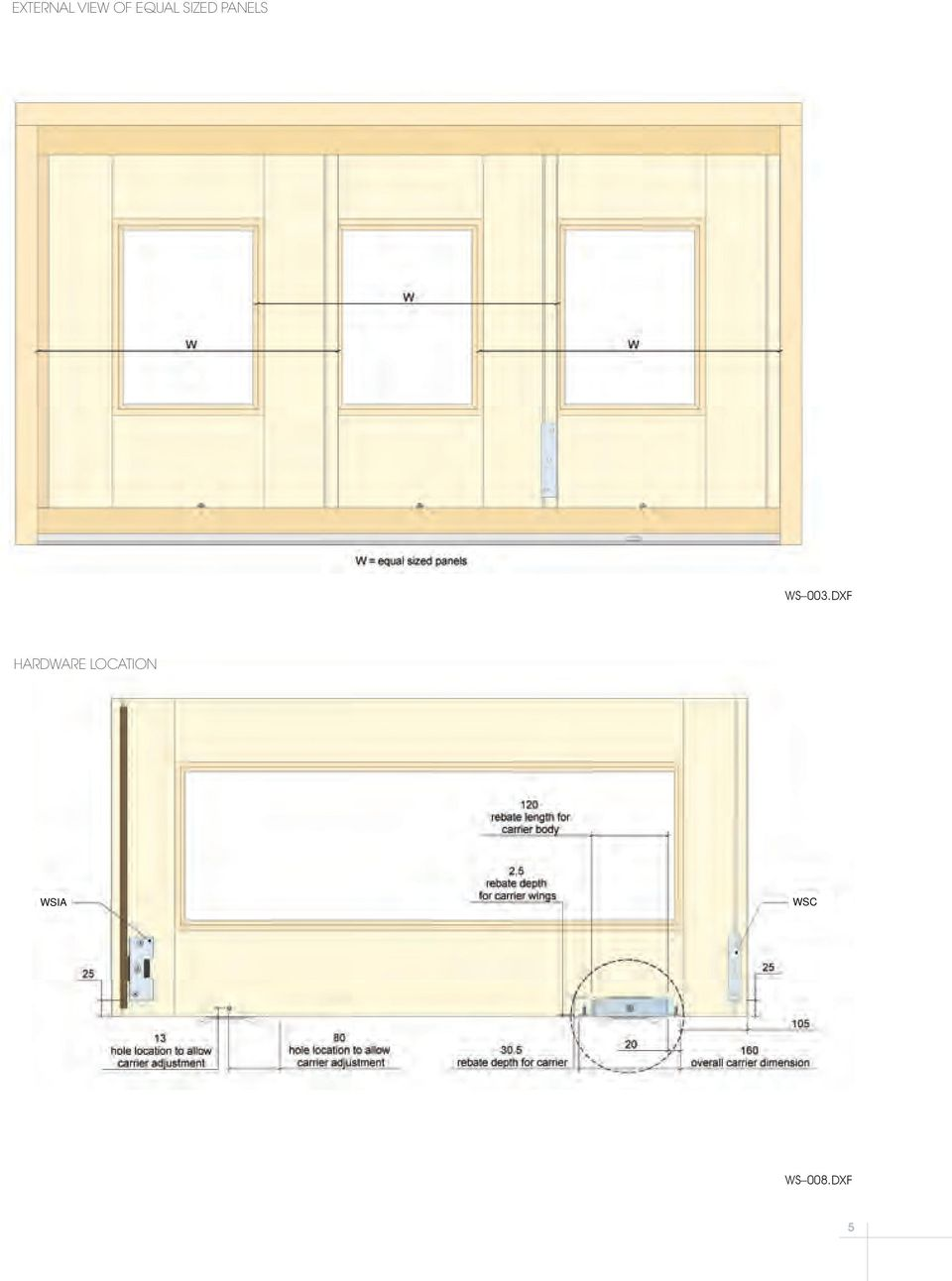 Ws Multi Panel External Sliding Door And Window System Pdf