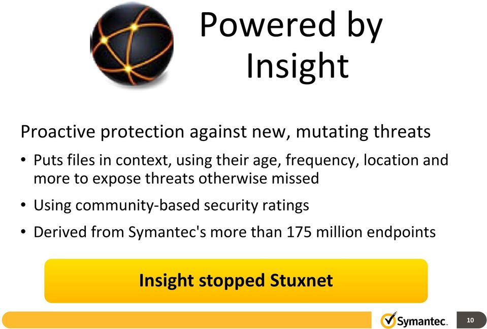 expose threats otherwise missed Using community-based security ratings
